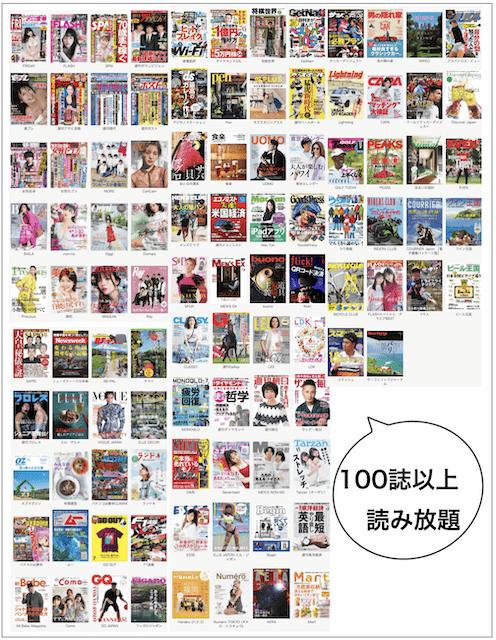 2019年6月FOD雑誌読み放題ラインナップ