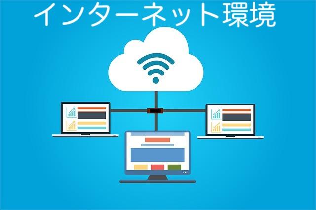 インターネット環境の図