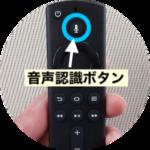 Fire tv stick音声認識ボタン