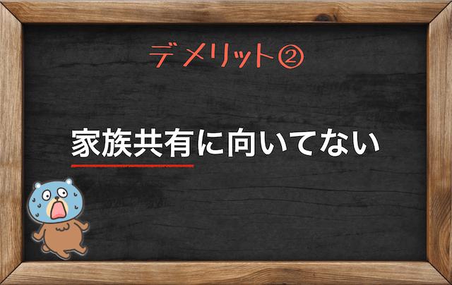 dアニメストアのデメリット②